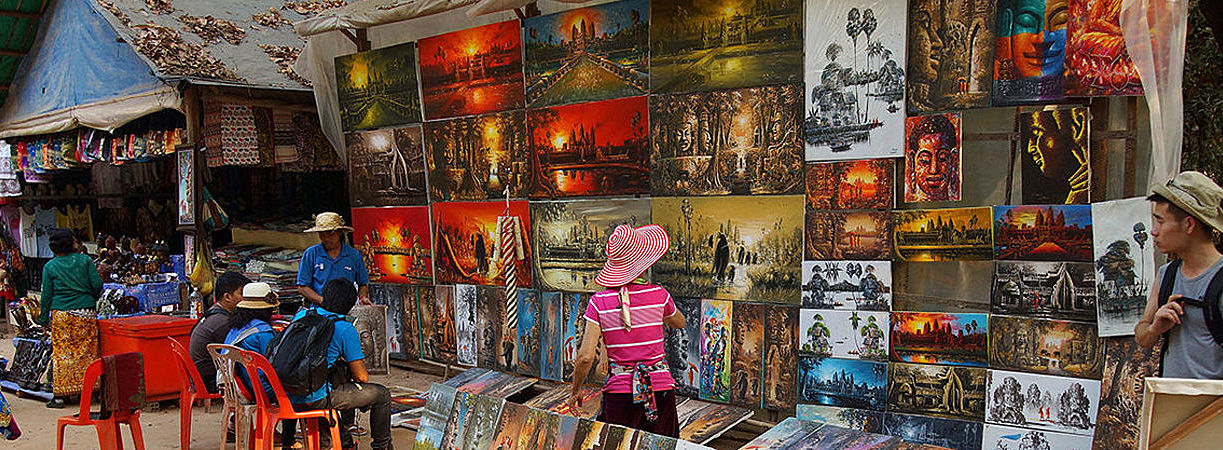 Cambodia Souvenirs - What to Buy