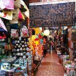 A souvenir shop in Russian market, Phnom Penh