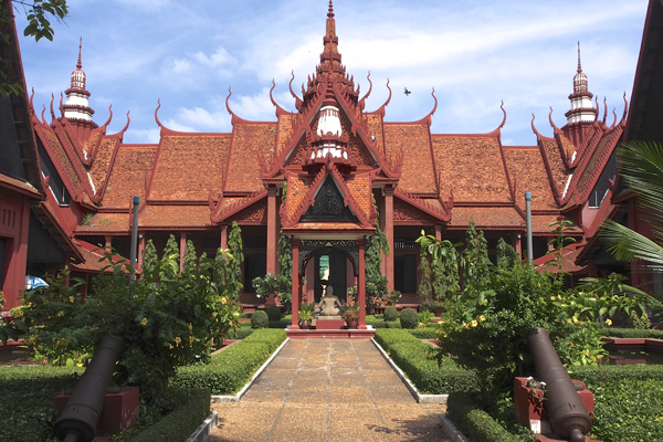 Cambodia National Museum - Cambodia 6 Day Tour