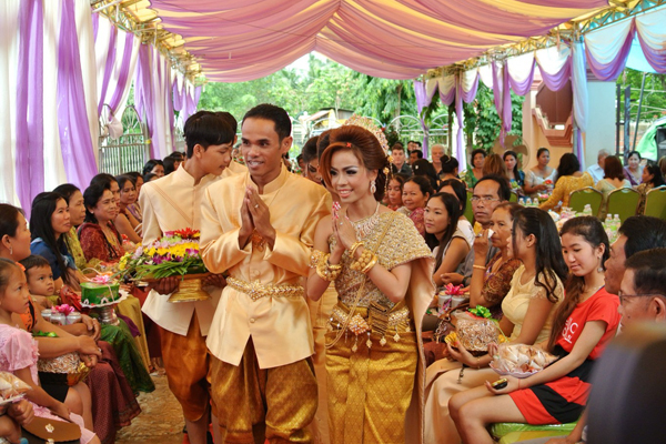 Wedding Ceremony In Cambodia Cambodia Tours