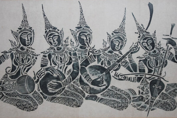 Cambodian rice paper printed, Tours to Cambodia