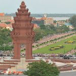 Independencce monument, Cambodia Tours itinerary