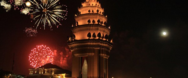 Fireworks displays to welcome International New Year's Day