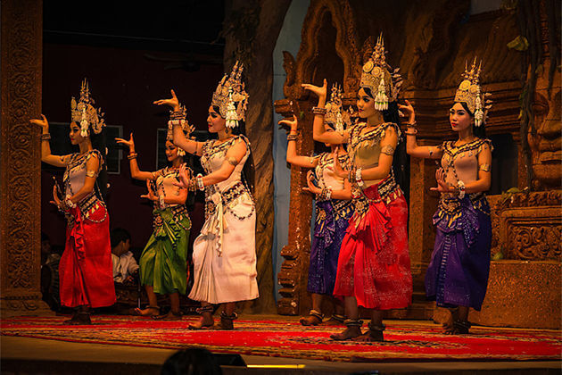 Royal Apsara performance in Cambodia, Cambodia Tour