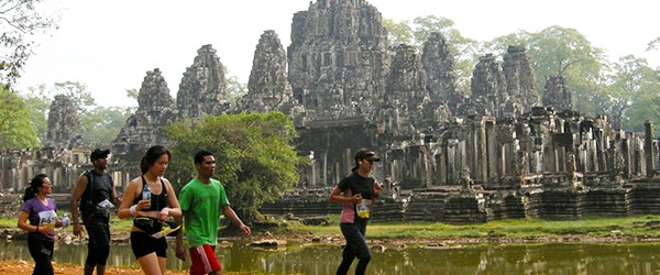 Runners from all over the world participate to Angkor Wat International Half Marathon