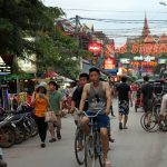 Daily life in Siem Reap town