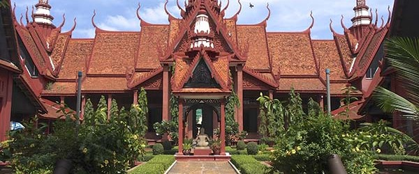The National Museum of Cambodia is Cambodia's largest museum of cultural history and is the country's leading historical and archaeological museum.