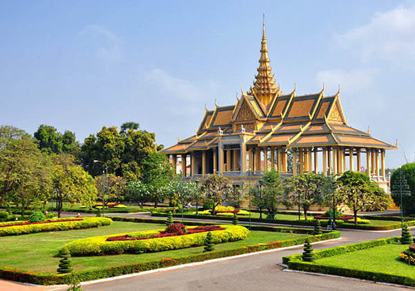 The Cambodia's Royal Palace