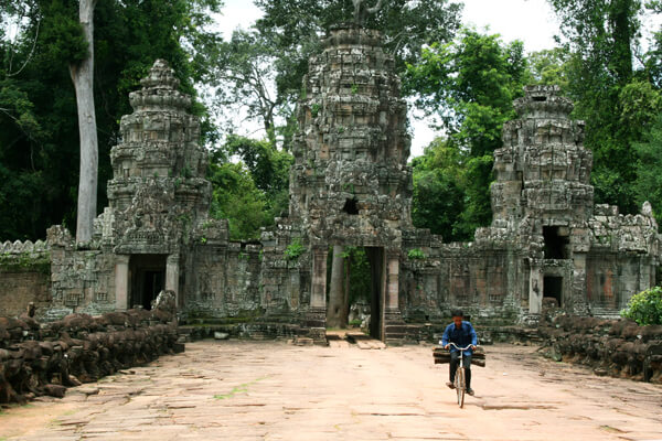 The gate of Preah Khan Temple