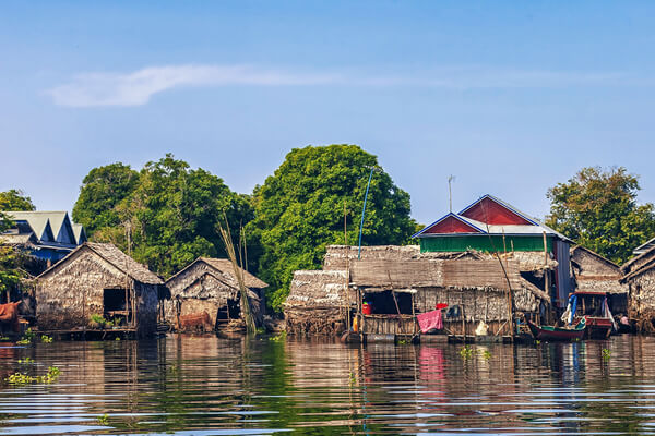 Tonle Sap villages, Cambodia itinerary