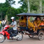 Tuk Tuk Experience in Siem Reap, Vacation in Cambodia
