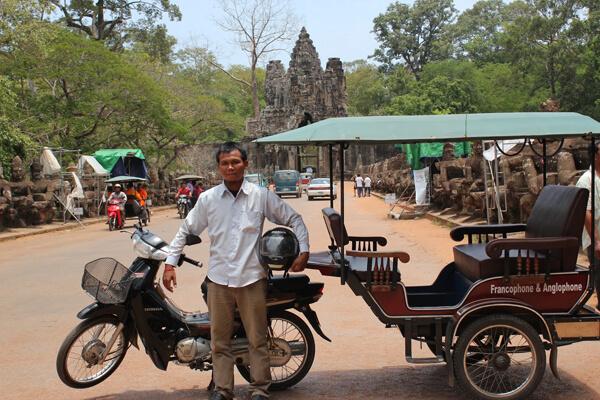 Tuk Tuk in Siem Reap, Cambodia Trips