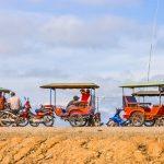 Tuk tuk experience in Siem Reap