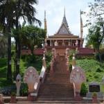 Wat Phnom on the top of hill, Phnom Penh