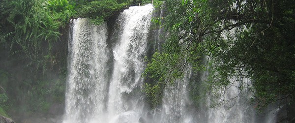 Waterfall in Kulen Mountain