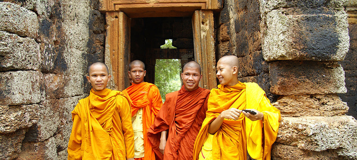 Cambodia Monks, Cambodia tour packages