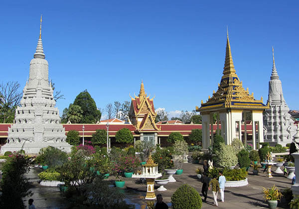 the Campus of Silver Pagoda