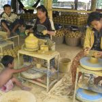 Pottery factory in Kompong Chang