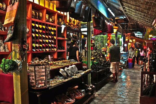 Souvenir Shop in Siem Reap Market, Cambodia Vacations