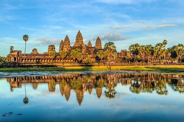 Angkor Wat - The largest religious monument in the world