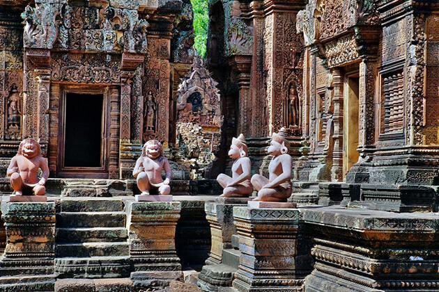 Banteay Srei Temple Siem Reap Attractions