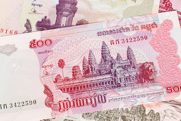 Riel Is The Money Currency Of Cambodia
