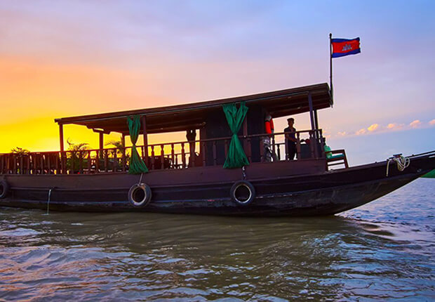 River Boat Cruises, Cambodia local tours