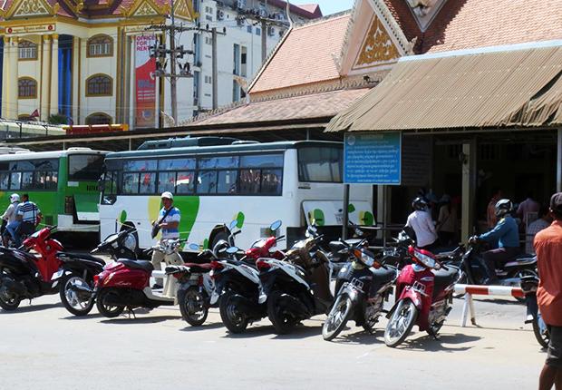 motorbike in Cambodia, Cambodia Trips