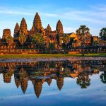 Angkor Wat is the largest Hindu temple over the world with an area of 200 hectare