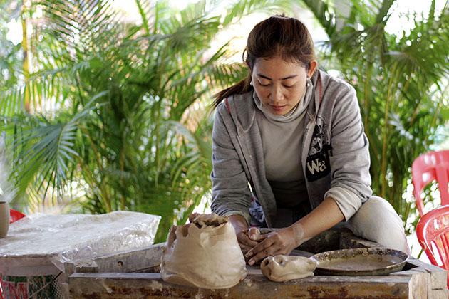 Khmer ceramics centre, Cambodia Tours