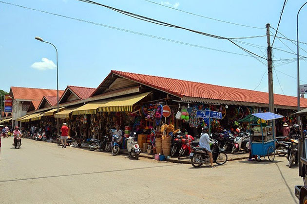 The Old Market in Siem Reap, Cambodia Trips