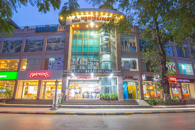 shopping mall in Siem Reap, Cambodia Tour