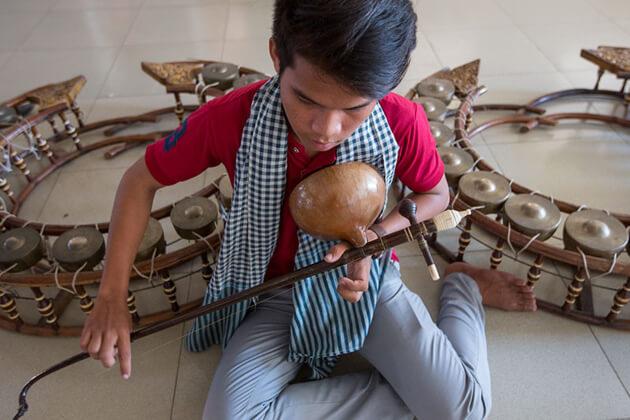 Cambodia musical instrument - Kse Diev