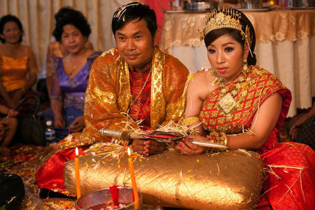 Cambodian Traditional Marriage Customs Wedding Ceremony