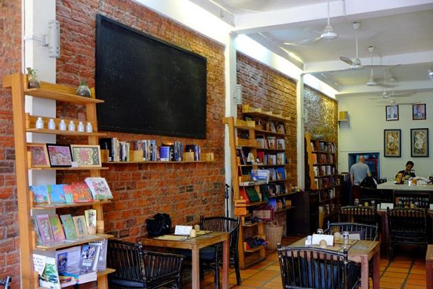 New Leaf Book Café siem reap