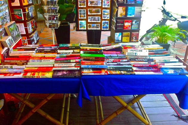 Siem Reap book store