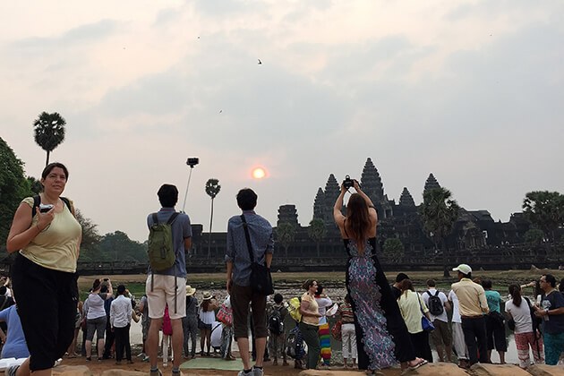 Sunset over Angkor Wat, Cambodia tours