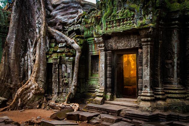 Ta Phrom Angkor Wat
