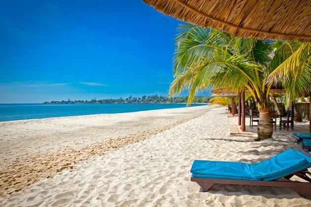 Tropical islands in Cambodia