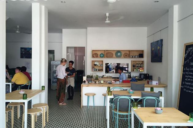 ARTillery Coffee Shop Phnom Penh