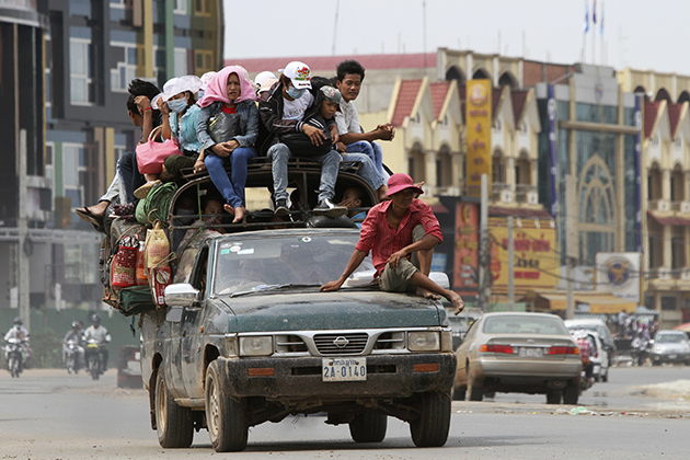 Cambodia Bad Traffic