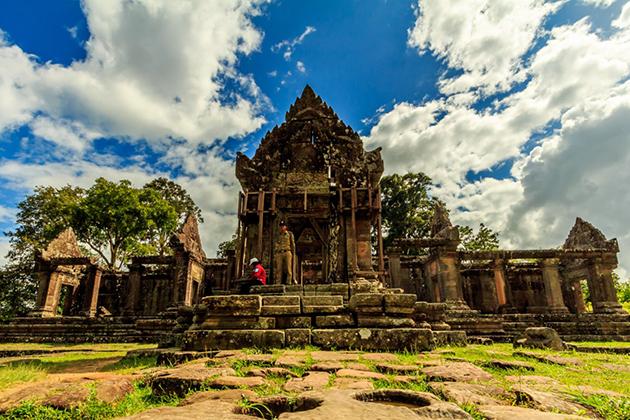 Preah Vihear Temple, Cambodia vacation