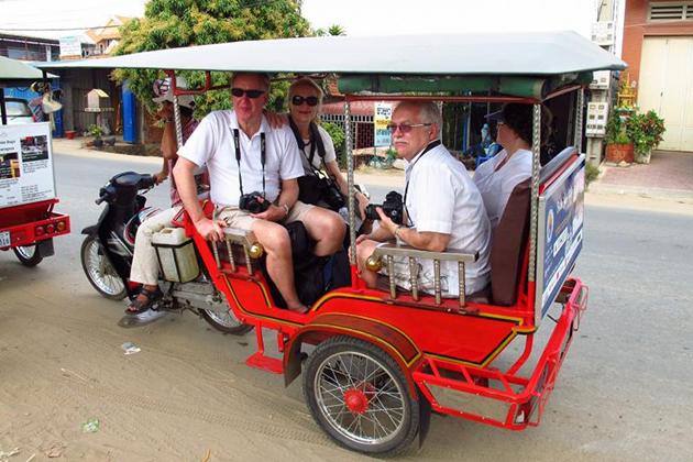 Tuk Tuk Experience in Cambodia