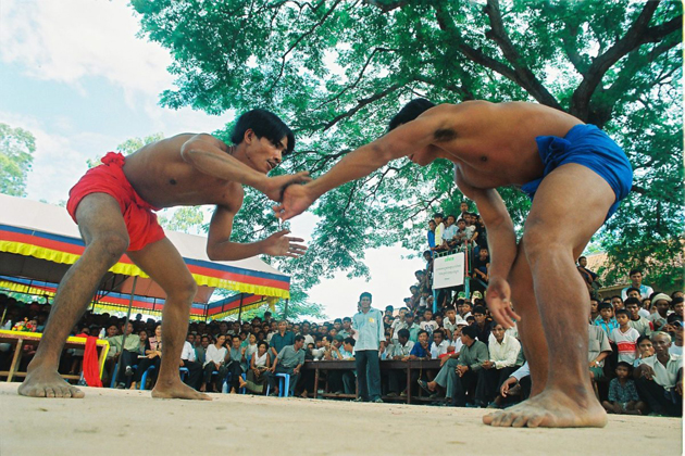 Baok Chambab wrestling cambodian traditional art form