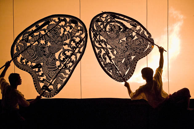 Cambodia Shadow Puppetry Performance