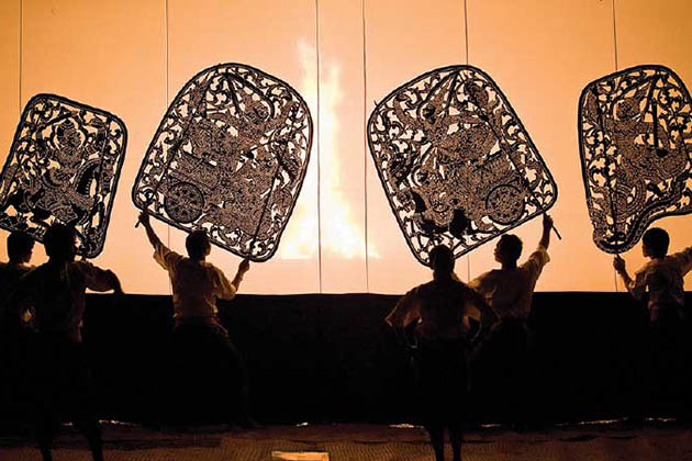 Cambodia Shadow Puppetry