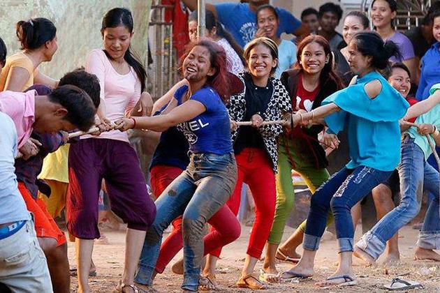 Cambodia Tugging rituals and games