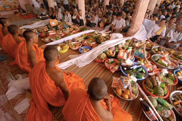 Chol Chnam Thmay Festival Cambodia