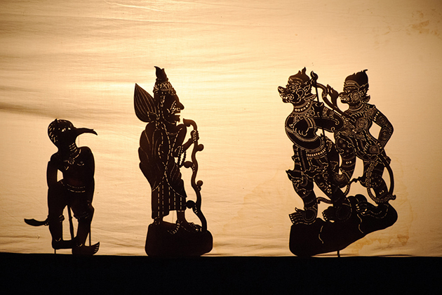 History of Cambodia Shadow Puppetry