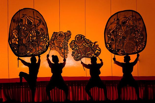 Intangible World Heritage Sbek Thom stage art Cambodia